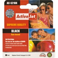 Activejet Ink Canon  CLI-521Bk black