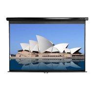 """Elite Screens M150UWH2 150"""" 16:9 manuaalne musta korpusega projektori ekraan"""