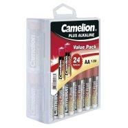 Camelion Plus Alkaline LR6-PB24, AA 24-pack