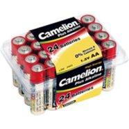 Camelion Plus Alkaline LR03-PB24, AAA 24pcs-box, 1250mAh