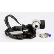 ARCAS 9-LED Headlamp + 3 x AAA (R03) batteries