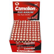 Camelion Plus Alkaline AAA (LR03) Display Box (20x10pcs) Shrink Pack, 1170mAh