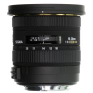Sigma Sigma EX 10-20mm F3.5 DC HSM for Canon, 13 Elements in 10 Groups, Angle of View: 102.4-63.8 degrees, 7 Blades, Filter size 82mm, Minimum Focusing Distance: 24cm