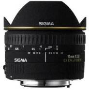 Sigma Sigma EX 15mm F2.8 DG Diagonal Fisheye for Canon, 7 Elements in 6 Groups, 180 degrees angle of view, 7 Blades, minimum focusing distance: 15cm