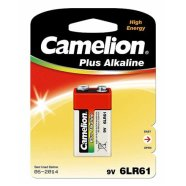 Camelion Plus Alkaline 9V Block (6LF22), 1-pack