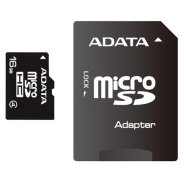 A-Data 8GB microSDHC card with SD adapter (class 4), retail