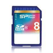 Silicon Power SILICON POWER 8GB, SDHC SECURE DIGITAL CARD, CLASS 10