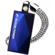 Silicon Power SILICON POWER 8GB, USB 2.0 FLASH DRIVE TOUCH 810, BLUE