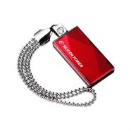 Silicon Power SILICON POWER 8GB, USB 2.0 FLASH DRIVE TOUCH 810, RED