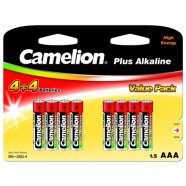 Camelion Camelion Plus Alkaline AAA (LR03), 8 (4+4) value pack