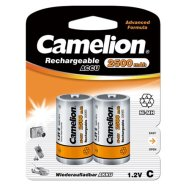Camelion Rechargeable Batteries Ni-MH C size (R14), 2500 mAh, 2-pack