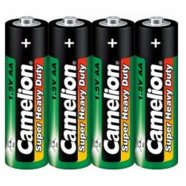 Camelion Super Heavy Duty AA (R06), Green, 4 pcs