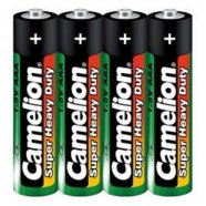 Camelion Super Heavy Duty AAA (R03), Green, 4 pcs