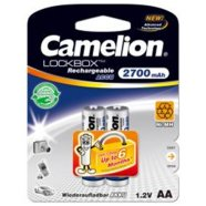 Camelion Camelion  Rechargeable Batteries Ni-MH AA (R06), 2700mAh, 2-pack + BOX