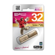 Silicon Power SILICON POWER 32GB, USB 2.0 FLASH DRIVE LUXMINI 720, BRONZE