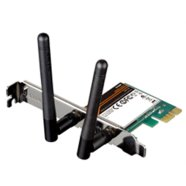 D-Link D-LINK DWA-548, WIRELESS N 300 PCI ExPRESS DESKTOP ADAPTER, 802.11g/n support, PCI Express (PCIe), Wi-Fi Protected Access (WPA™ & WPA2™), 64/128-bit WEP, Wi-Fi Protected Setup - PIN & PBC, Detachable 2 dBi dipole antenna, OS support: Windows 7, Vista, or XP SP3