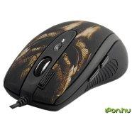 A4Tech A4Tech mouse XL-750BH Laser Anti-Vibrate Gaming (Brown Mask), 3600 dpi, 64K memory, USB