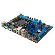 Asus ASUS M5A78L-M LX3 / AMD 760G (780L)/SB710 / 2 x DIMM, Max. 16GB, DDR3, Dual channel / Expansion: 1 x PCIe 2.0(x16),  1 x PCIe 2.0(x1), 1 x PCI / Storage: 4 x SATA 3Gb/s port(s),  Raid ( 0, 1, 10, JBOD ) / Qualcomm Atheros, 1 x Gigabit LAN Controller / 8 x USB 2.0 / uATX