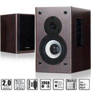 MicroLab Microlab B-72 2.0 Speakers/ 24W RMS (12W+12W)
