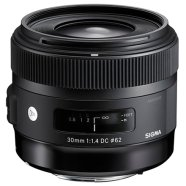 Sigma Sigma 30mm F1.4 DC HSM for Canon