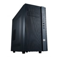 Cooler Master Cooler Master N200, Mini tower, USB 3.0 x1, black w/o bottom mounted PSU, micro-ATX