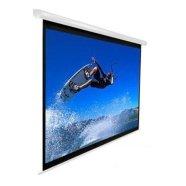 """Elite Screens VMAX150XWH2 150"""" 16:9 elektriline valge korpusega projektori ekraan"""