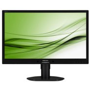 "Philips PHILIPS 241B4LPYCB 24"" W-LED 1920x1080 (16:9) / 20M (typ. 1000:1) / 5ms / H=170, V=160 / 250cdqm/ sRGB, VGA, DVI-D, USB 2.0 x2/ Speakers 2x 1.5W/ Black"