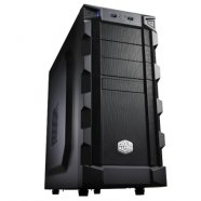 Cooler Master Cooler Master K(night) 280 Midl tower, USB 3.0 ,  black w/o PSU, mATX / ATX