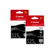 Canon Canon PGI-525 Twinpack Black Ink Cart. (For IP4850, MG5150/5250/6150/8150) 2x19ml