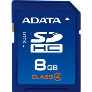 A-Data A-Data 8GB SDHC card (class 4), retail