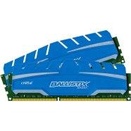 Crucial mälu 8 GB (4 GB x 2), DDR3-1600, DIMM 240, PC3-12800,1.5 V.