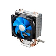 "Deepcool  ""Ice Edge Mini FS"" universal cooler, 2 heatpipes, Intel Socket LGA1156 /1155/ 775 and AMD Socket FM1/AM3+/AM3/AM2+/AM2/940/939/754"