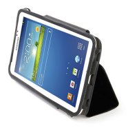 "Tucano Tucano Leggero folio case for Samsung Galaxy Tab 3 8"" (Black) / leather-like PU"