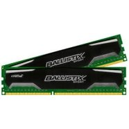 Crucial Crucial 16GB kit (8GBx2) DDR3 Ballistix Sport UDIMM 240pin, 1600 MT/s, PC3-12800, CL9, 1.5V