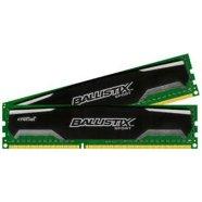 Crucial Crucial 16GB kit (8GBx2) DDR3 Ballistix Sport UDIMM 240pin, 1600 MT/s, PC3-12800, CL9, 1.5V