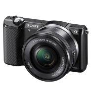 Sony hübriidkaamera must A5000
