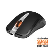SteelSeries SteelSeries Sensei Wireless Gaming Mouse Black