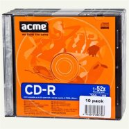 ACME toorik CD-R 80/700MB 52X 10tk