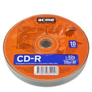 ACME ACME CD-R 80/700MB 52X 10pack shrink