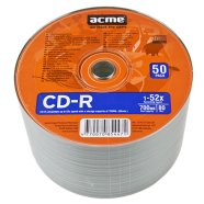 ACME ACME CD-R 80/700MB 52X 50pack shrink