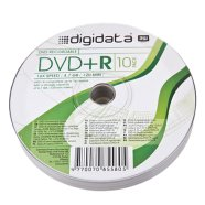 Digidata DVD+R 4.7GB 16X 10pack shrink