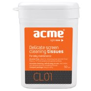 ACME ACME CL01 Delicate screen cleaning tissues, 50 pcs, wet