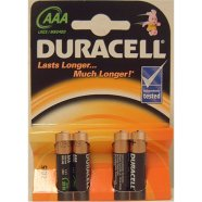 Duracell DURACELL Basic MN2400 AAA (LR03), 4-pack