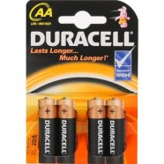 Duracell DURACELL Basic MN1500 AA (LR06), 4-pack