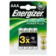 Energizer Power Plus 850mAh HR03 AAA (LR03), 2-pack