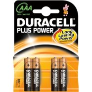 Duracell DURACELL Plus Power MN2400 AAA (LR03), 4-pack