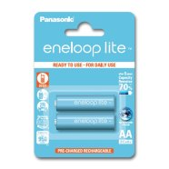 Panasonic Eneloop Ready To Use Rechargeable Battery 2x AA BK-3LCCE-2BE (1000mAh)/ Recharge 3000 Times
