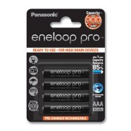 Panasonic Eneloop Ready To Use Rechargeable Battery 4x AAA BK-4HCCE-4BE (950mAh)/ Recharge 500 Times