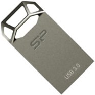 Silicon Power SILICON POWER 64GB, USB 3.0 FLASH DRIVE, JEWEL J50, Titanium