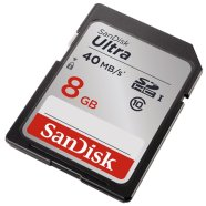 SanDisk SDHC mälukaart 8GB Ultra 40MB/s Class 10